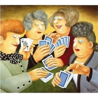 """""""A Full House"""" Beryl Cook Limited Edition Print"""