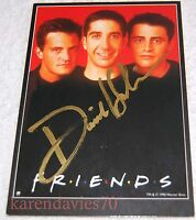 AUTOGRAPH DAVID SCHWIMMER WITH COA FRIENDS.BAND OF BROTHERS MADAGASCAR