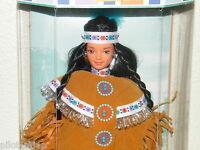 NIB ~ Barbie ~ Native American 4th Edition 1997 ~ Dolls of the World