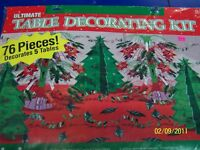 Ultimate Table Decorating Kit Winter Christmas Holiday Party Decorations