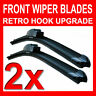 "24"" 16"" Aero FLAT Windscreen Front Wiper Blades Upgrade Pair Car"