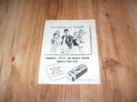 Mars Bar chocolate bar-1951 magazine advert
