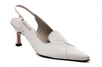 Ivory satin wedding bridal bridesmaid shoes size 5.5,6,6.5,7 Pure and precious