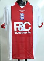 BIRMINGHAM CITY S/S 08/09 AWAY SHIRT BY UMBRO ADULTS SIZE SMALL BRAND NEW