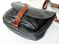 Bree Schultertasche vintage Schultasche 80er Ledertasche Tasche Saddle Bag