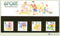 1988 Sports Stamps in Presentation Pack PP163 (printed no. 189) - Royal Mail