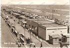 1959 PORTO SAN GIORGIO (FM) Veduta aerea Spiaggia e LEGA NAVALE *Cartolina FG VG