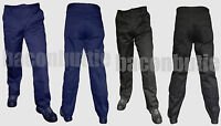 ST Mens Cargo Combat Work Wear Trousers Pants Knee Pad Pockets Black or Navy