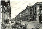 1955 CUNEO Scorcio di Corso NIZZA *Cartolina ANIMATA FG VG