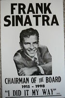 Frank Sinatra Chairman of the Board Poster