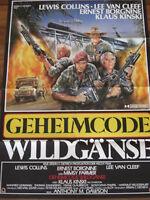 GEHEIMCODE WILDGÄNSE - Klaus Kinski + Lee van Cleef + Ernest Borgnine