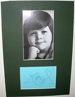 AUTOGRAPH JIMMY OSMOND, THE OSMONDS,LONG HAIRED LOVER FROM LIVERPOOL,
