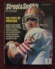 1990 Joe Montana San Francisco 49ers Pro Football Street Smith's Magazine