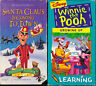 Santa Claus Is Coming To Town (VHS) & Winnie The Pooh - Growing Up (VHS)