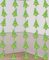 6 Christmas TREE Festive 7ft String Party Decorations