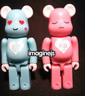 RaRe~ Medicom 2008 Valentine V@lentine 100% Be@rbrick Bearbrick Set of 2P figure