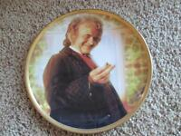 """""""Bilbo"""" LORD OF THE RINGS  The Fellowship Of The Ring Danbury Mint Plate"""