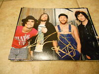 The All American Rejects Band Signed Autographed 8x10  Photo x2 Guaranteed #1