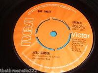"VINYL 7"" SINGLE - THE SWEET - HELL RAISER - RCA 2357"