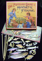 NEW MAGNETIC FISHING TRADITIONAL 1800's VINTAGE GAME HOM