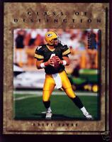 1997 DONRUSS STUDIO BRETT FAVRE 8X10 CARD #30 ~ PACKERS