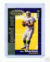 1995 UDCC DAN MARINO CRASH THE GAME GOLD CARD #C1