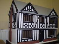 1/12th scale Tudor Dolls House - Oak House