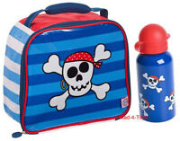 SKULL & CROSSBONES Lunch Bag & Aluminium Bottle *BRAND NEW*