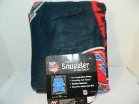 Buffalo Bills Youth Kids Size 48x48 snuggler soft Comfy Throw Blanket w Sleeves