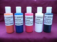 TAXIDERMY SUPPLIES  * POLYTRANSPAR WATER BASED PAINTS  (OPAQUE)  4 oz *