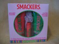 Smackers 4 Pc Bath & Body Set (Shampoo, Shower Gel, Lip Balm & Puff) NEW IN BOX