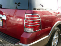 FORD EXPEDITION SUV 2003 - 2006 TFP ABS CHROME TAIL LIGHT COVER INSERT ACCENT