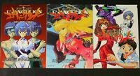 JAPAN Neon Genesis Evangelion manga: Comic Anthology vol.1~3 Complete set