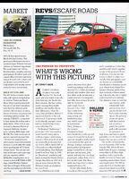 1963 Porsche 911 901 Prototype - Escape Road -  Classic Article A51-B