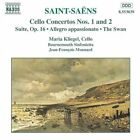 Saint-Saëns: Cello Concertos Nos. 1 & 2, , Good CD