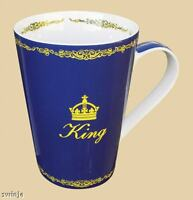 KING    Becher , Könitz Porzellan 400ml Tasse 0,4 L 2.Wahl