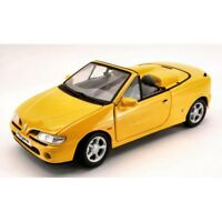ANSON AS0342Y RENAULT MEGANE CONVERTIBLE 1996 YELLOW 1:18 MODELLINO DIE CAST