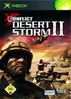 XBOX Spiel Conflict Desert Storm II mit Anleitung guter Zustand + OVP