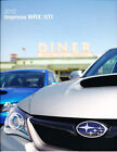 2012 Subaru Impreza WRX and STI Original Sales Brochure