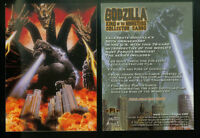 PROMO CARD: GODZILLA KING OF THE MONSTERS (COMIC IMAGES/2006) #P1