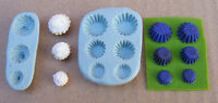 1:12 Scale 2 Part Cup Cake Mold/Mould Set Dolls House Miniature Food Accessory