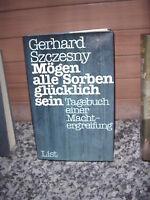Mögen alle Sorben glücklich sein, von Gerhard Szczesny