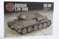 Airfix Vintage Model  Kit OO/HO Russian T-34 Tank
