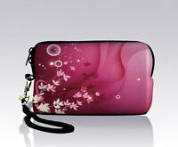 Pink Style Digital Camera Bag Case Pouch Cover+ Strap For Kodak Easyshare C195