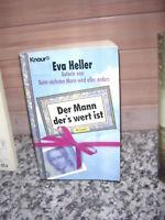 Der Mann der's wert ist, ein Roman von Eva Heller