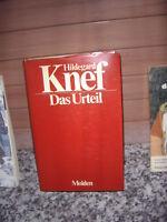 Das Urteil, ein Roman von Hildegard Knef