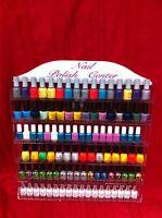 NAIL POLISH acrylic RACK,DISPLAY,HOLD96+,nail polishes OPI,CHINA GLAZE,ESSIE