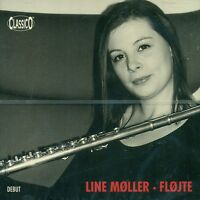 LINE MOLLER FLOJTE DEBUT LIVE CD ALBUM NEU & OVP (E1699)