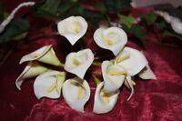 Calla . Hochzeit Dekoration Tischdeko 144 St. creme weiß