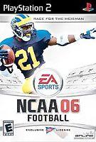 NCAA Football 2006 PS2, Acceptable PlayStation2, Playstation 2 Video Games